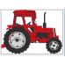 Nimeline pidžaamakott / sussikott Punane Traktor