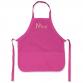 Pink polycotton Apron 52x62cm