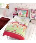 Laste voodipesukomplekt Võluaed 2-osaline