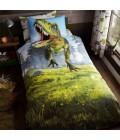 Laste voodipesukomplekt Dinosaurus 2-osaline