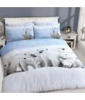 Laste voodipesukomplekt jääkaru 2-osaline