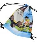 Seljakott / spordikott paeltega Totoro teemaline