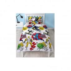 Laste voodipesukomplekt Marvel Comics 2-osaline