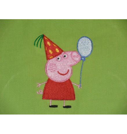 Lapse nimega tuduriiete kott / sussikott Peppa Pig