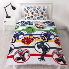 Laste voodipesukomplekt Marvel Avengers 2-osaline