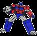 Nimeline pidžaamakott/ sussikott Sinine robot, Optimus Prime, Transformer