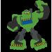 Lapse nimega pidžaamakott / sussikott Roheline robot