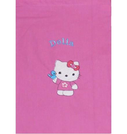 Lapse nimega tuduriiete kott / sussikott Hello Kitty