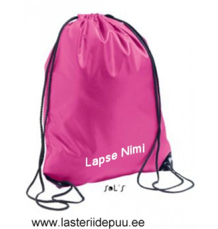PINK DRAWSTRING BAGS