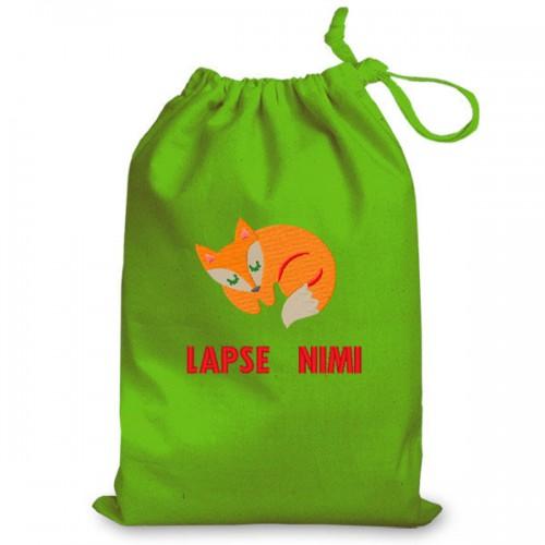 Personalized PJ bag  Fox