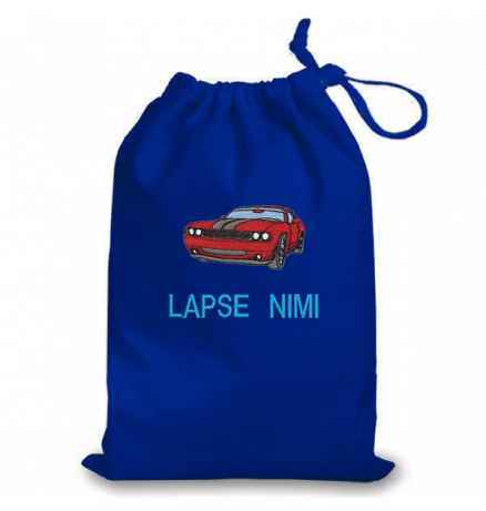 Nimeline pidžaamakott / sussikott sportauto