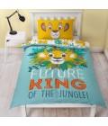 Laste voodipesukomplekt Lõvikuningas 2-osaline