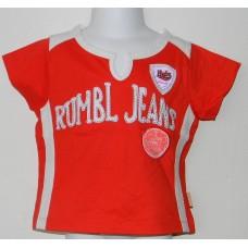 Rumbl Punane pluus 110-116cm